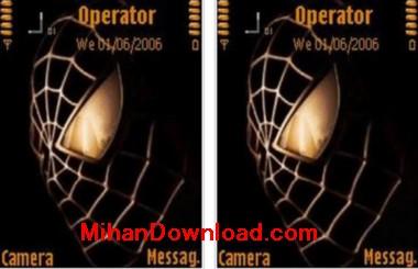 Spidey(MihanDownload.com) تم موبایل نوکیا سری n مرد عنکبوتی Spider Man