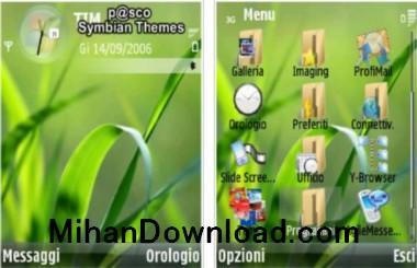 Vistaa(MihanDownload.com) تم موبایل خیلی قشنگ ویستا جدید نوکیا سری Vista n