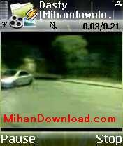 dasty(MihanDownload.com) کلیپ تصویری موبایل ایرانی پژو 206 دستی کشیده
