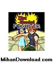 hot1%5BMihanDownload.com%5D بازی جاوا رزمی کارتونی HotBloodedFighter