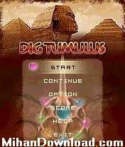 dig2%5BMihanDownload.com%5D بازی موبایل سه بعدی باحال نوکیا DigTum
