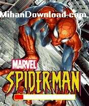 spider1%5BMihanDownload.com%5D بازی موبایل مرد انکبوتی برای نوکیا spiderman