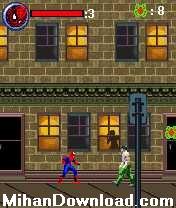 spider2%5BMihanDownload.com%5D بازی موبایل مرد انکبوتی برای نوکیا spiderman