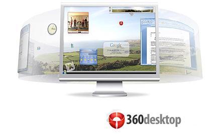 360desktop محیط دسکتاپ 360 درجه با 360desktop