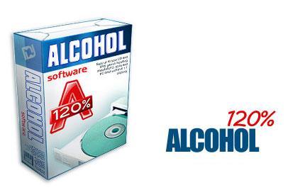 Alcohol نرم افزار رایت و شبیه ساز Alcohol 120% 1.9.6.4719 Retail