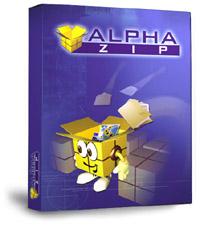 alpha zip فشرده ساز حرفه ای Alpha Zip 1.3