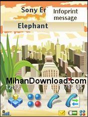UIQMorning%5BMihanDownload.com%5D تم قشنگ برای سونی اریکسون سری p
