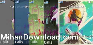 7theme 7 تم جدید موبایل برای سونی اریکسون