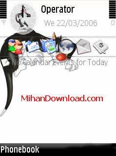 Silvestro%5BMihanDownload.com%5D تم موبایل نوکیا سری N جدید و با گرافیک