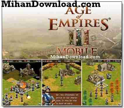 AgeOfEmpire3Mobile%5BMihanDownload.com%5D بازی موبايل عصر فرمانروایان Age Of Empires III Mobile