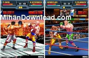 kofigh%5BMihanDownload.com%5D بازي موبايل بوكس مبارزه اي KO Fighters