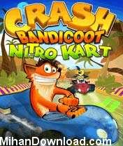 CrashNitroKart2 بازی موبایل Crash Nitro Kart 2 تحت فرمت جاوا