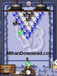 1206703099 بازی موبایل نوکیا سری 60ورژن3 نوکیا frozenbubles60v3