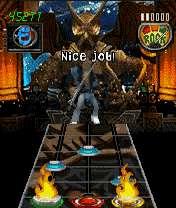 1213782437 45767 176 208 1 بازي موبايل جديد مسابقات گيتار Guitar Hero3