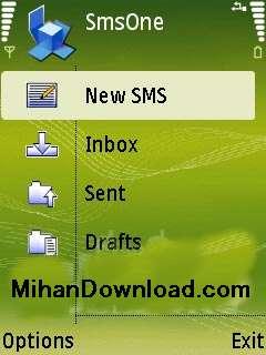 2dmduoo برنامه نوكيا سري ان SMSOne برای ارسال فلش اس ام اس