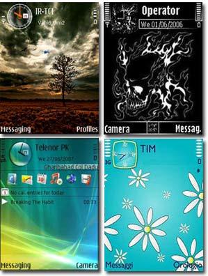 4theme nokia تم نوكيا سري 60 ورژن 3 جديد با گرافيك بي نظير Theme Nokia Sery N