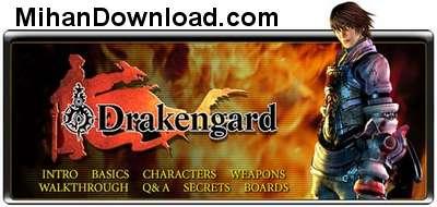 Drakengard بازي فوق العاده Drakengard به صورت جاوا و مناسب تمام سايزها