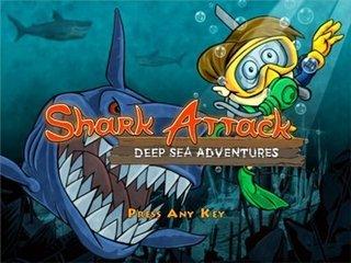 SharkAttack%5BMihanDownload.com%5D بازي جديد فكري كامپيوتر با حجم كم Shark Attack