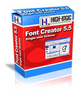 fontcreator55 نرم افزار ساخت فونت براي ويندوزFont Creator 5.5