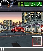 fugitive7en7%5BMihanDownload.com%5D بازي ماشين سواري سرعت موبايل با فرمت جاوا  Fast and the Furious Fugitive 3D
