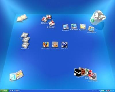 real%20Desktop نرم افزار ساخت دسكتاب سه بعدي Real Desktop v1.2
