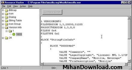 reshack%5BMihanDownload.com%5D نرم افزاري براي هك نرم افزار ديگر3.4 Res Hack