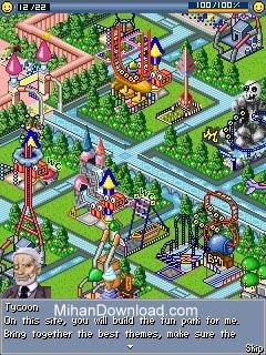 02 fun park tycoon بازی مخصوص نوکیا سری 60 ویرایش 3   Fun Park