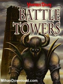 01 vampires dawn battle towers بازی موبایل مخصوص گوشی های نوکیا سری 60 ویرایش سوم Battle Towers
