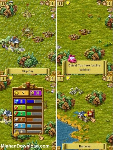 townsmen 6 revolution sc بازی موبایل مخصوص گوشی های جاو ا و نوکیا Townsmen 6 Revolution